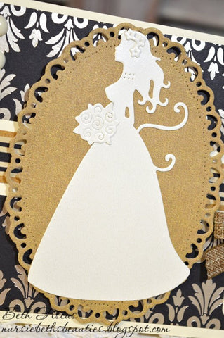 BEAUTIFUL BRIDE DIE SET - Gina Marie Designs