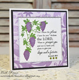 GRAPEVINE DIE SET - Gina Marie Designs