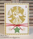 IN AND OUT CUT CHRISTMAS ANGEL DIE SET - Gina Marie Designs