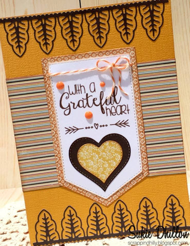 LEAF BORDER DIE - Gina Marie Designs