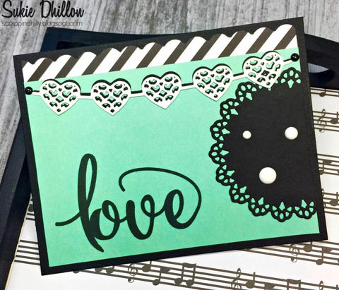 LACEY LATTICE CIRCLE DIE SET - Gina Marie Designs