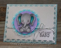 DOUBLE ROPED CIRCLE DIE SET - Gina Marie Designs