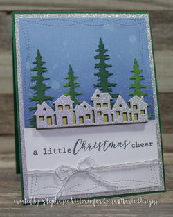PINE TREE PAIR DIE SET - Gina Marie Designs
