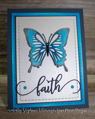 FAITH WORD DIE - GINA MARIE DESIGNS