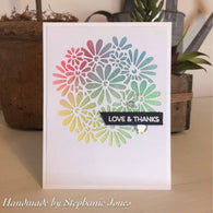 CUT IN CUT OUT DAISY BOUQUET DIE SET - Gina Marie Designs