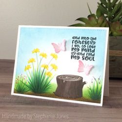 TREE STUMP LAYERED STAMP SET - Gina Marie Designs