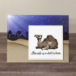 LAYERED CAMEL STAMP SET - Gina Marie Designs