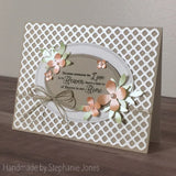 A2 SIZED LATTICE PANEL DIE - Gina Marie Designs