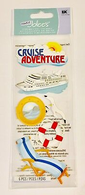 CRUISE ADVENTURE STICKERS - Jolee's Boutique Stickers