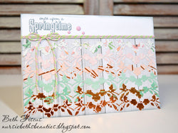 FLOWER BORDER DIE - GINA MARIE DESIGNS