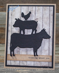 FARMHOUSE ANIMAL STACK DIE - GINA MARIE DESIGNS