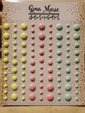 PASTEL EASTER GLOSS STYLE ENAMEL DOTS - Gina Marie Designs