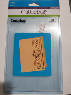 COUNTESS - CUTTLEBUG EMBOSSING FOLDER
