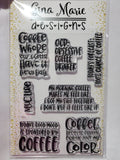 ADULT COFFEE SENTIMENTS - Gina Marie Designs