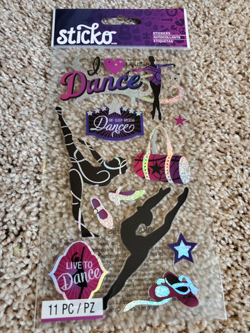DANCE - STICKO STICKERS