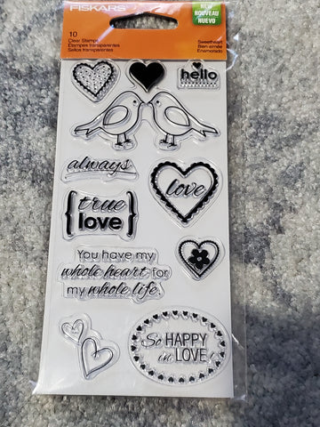 SWEETHEART - FISKARS CLING STAMPS