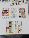 PPS-66 THE HAPPY PLANNER ME AND MY BIG IDEA MULTI STICKER SHEET PACK