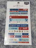 STICKER TRAVEL PARK LANE 2 SHEET STICKER PACK