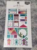 STICKER TAG TROPICAL TRAVEL PARK LANE 2 SHEET STICKER PACK