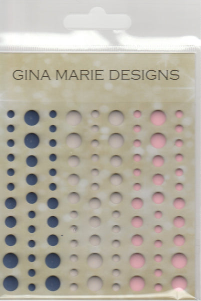 LIGHTHOUSE COLORS Enamel Dot Embellishments