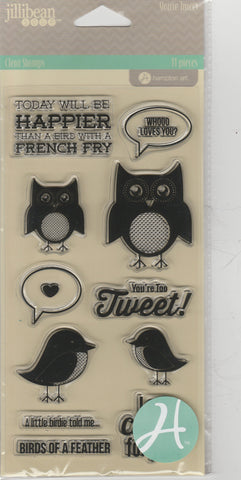 YOU'RE TWEET - JILLIBEAN CLEAR STAMPS