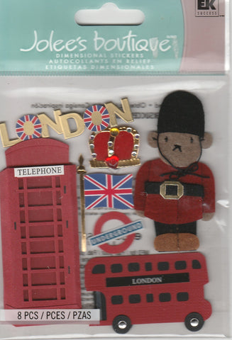 LONDON - Jolee's Boutique Stickers