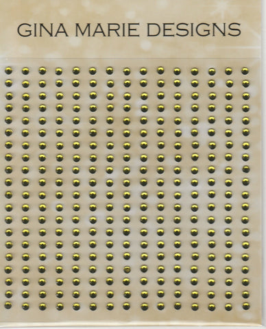 OLIVE GREEN - GINA MARIE RHINESTONES 300 COUNT NOT CONNECTED