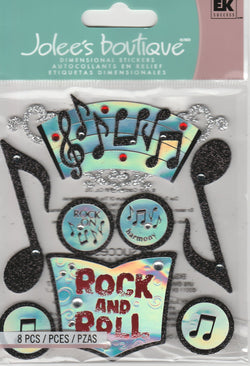 MUSIC - Jolee's Boutique Stickers