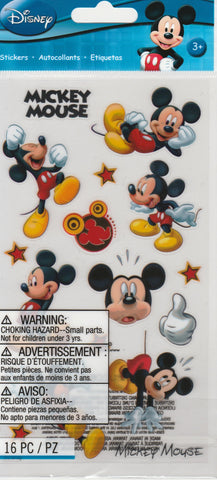 Mickey Mouse STICKO STYLE - Jolee's Boutique Stickers