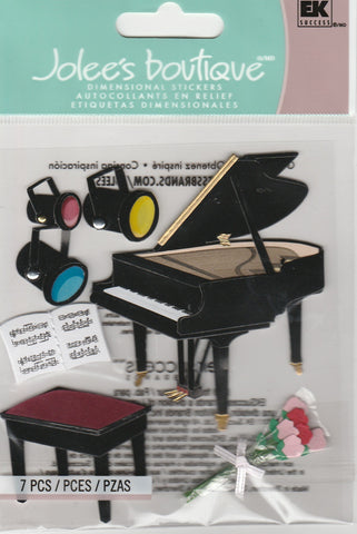 PIANO RECITAL - Jolee's Boutique Stickers