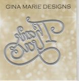 THANK YOU DIE - Gina Marie Designs