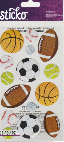POPULAR SPORTS BALLS - STICKO STICKERS