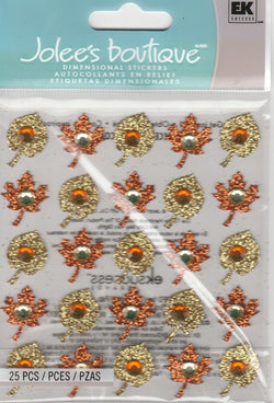 FALL LEAVES REPEATS - Jolee's Boutique Stickers