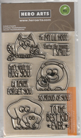 LIL HOOT - HERO ARTS CLEAR STAMPS