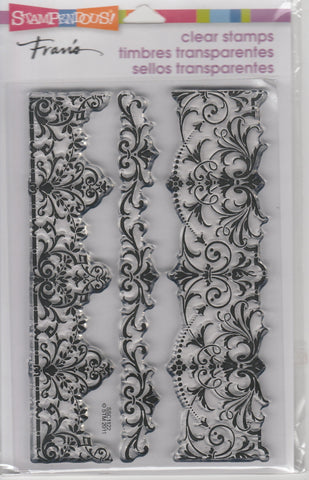 ELEGANT BORDERS - STAMPENDOUS CLEAR STAMPS