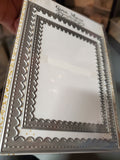 FRAMES ~ SCALLOPED STITCHED RECTANGLES - Gina Marie Designs