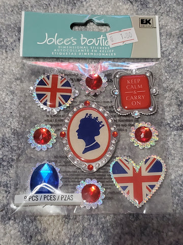 ROYAL CAMEO - Jolee's Boutique Stickers