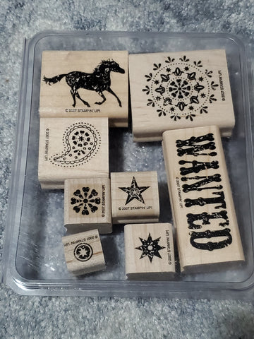 WANTED - STAMPIN UP STAMP SET (USED)