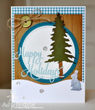 HAPPY HOLIDAYS WORD DIES - Gina Marie Designs