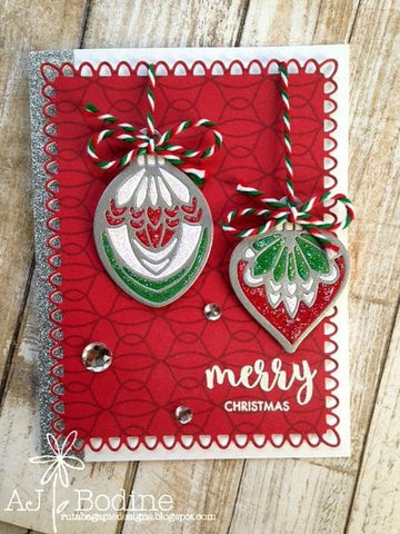 ORNAMENT & SHADOW LAYER DIE SET - Gina Marie Designs