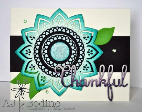 LOOPY CIRCLE DIE SET - Gina Marie Designs