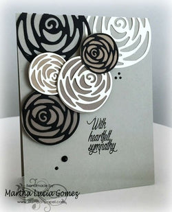 ROSE KNOT DIE SET - Gina Marie Designs