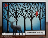 TREE FRAME DIE - Gina Marie Designs