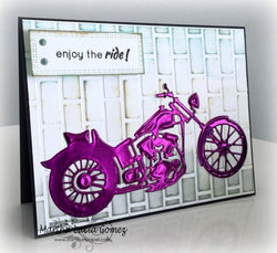 MOTORCYCLE DIE - Gina Marie Designs