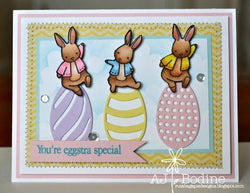 6 PIECE EASTER EGG DIE SET - Gina Marie Designs