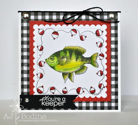 NESTED - SCALLOPED STITCHED SQUARE DIES - Gina Marie Designs