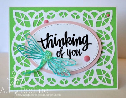 DRAGONFLY DIE - Gina Marie Designs