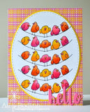 STITCHED OVAL DIE SET - Gina Marie Designs