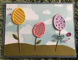 EGG FLOWER DIE SET - GINA MARIE DESIGNS