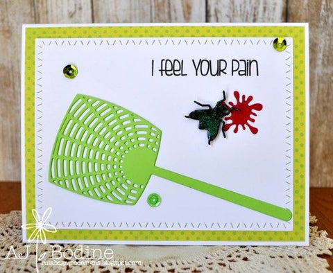 FLY SWATTER DIE SET - GINA MARIE DESIGNS